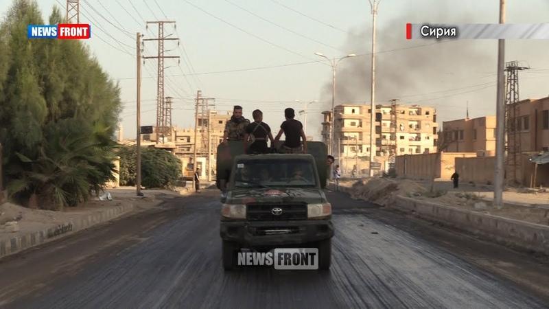 Военкор Олег Блохин: в Сирии продолжается зачистка пустыни Аль Меядин