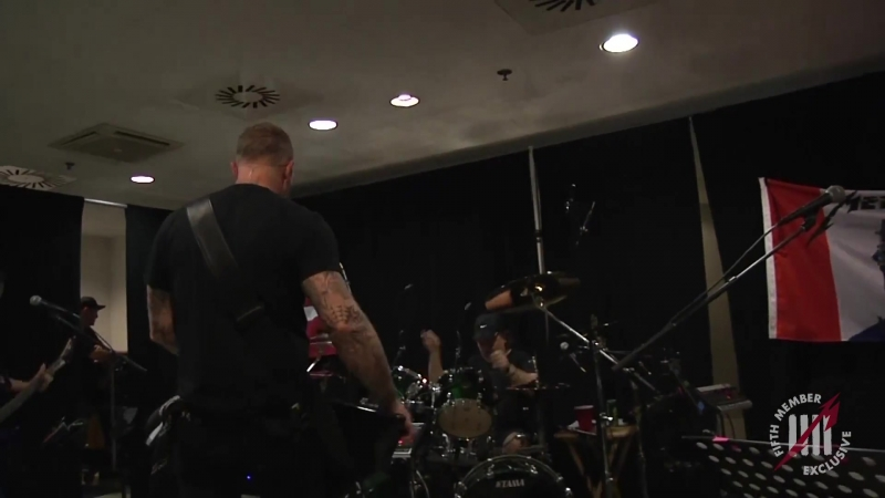 Metallica Tuning Room Budapest Hungary 2018