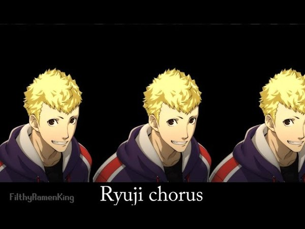 Different varioations of Ryuji saying For real