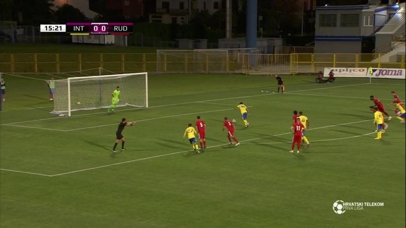 Inter-Zapresic - Rudes 3-0, Sazetak (1. HNL 2018/19, 6. kolo), 31.08.2018. Full HD