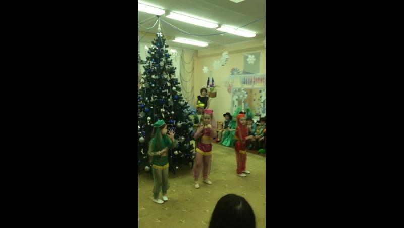 Катерина в танце «Восточные красавицы»