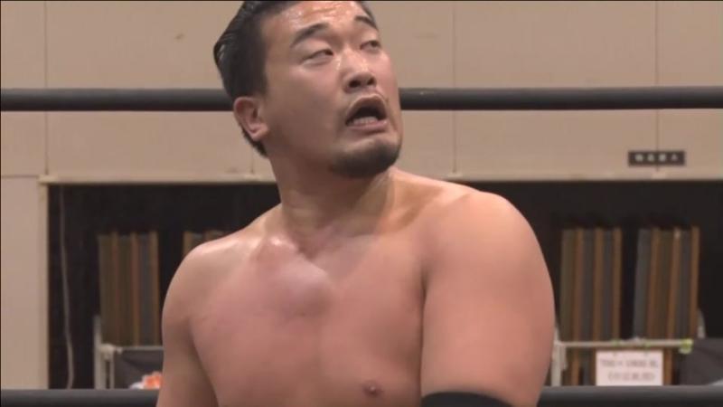 Kazusada Higuchi vs. Mike Bailey (DDT - D-Ou Grand Prix 2018 In Shimizu - Day 6)