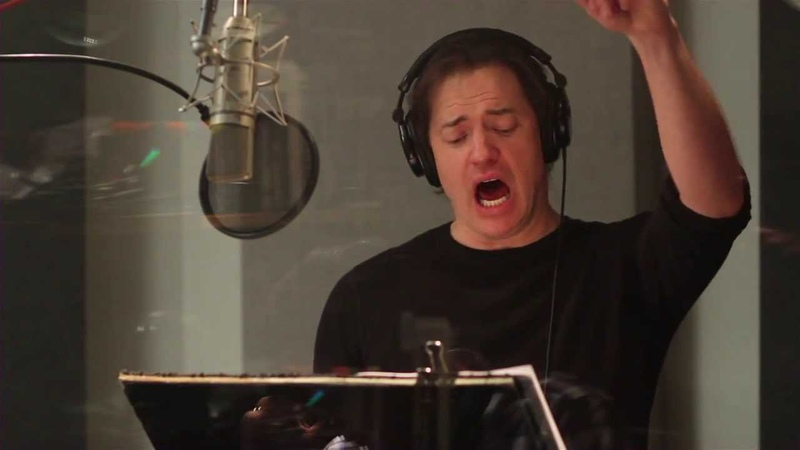 The Nut Job Brendan Fraser Grayson Behind the Scenes Complete Broll