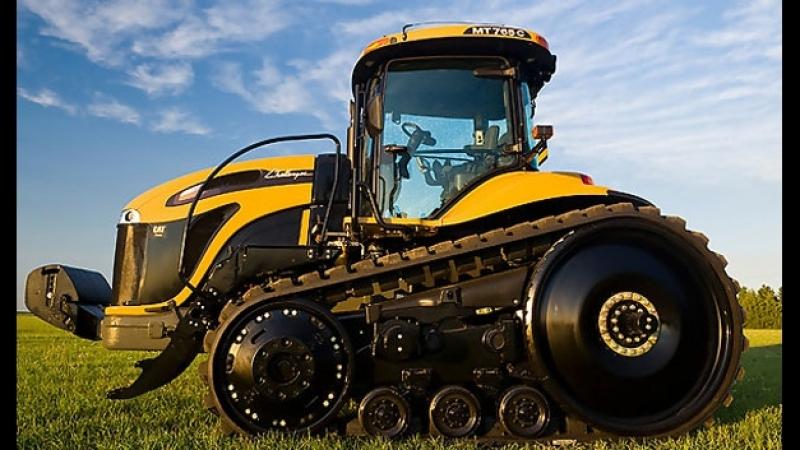 Удивительные, мощные, современные трактора и сельхозтехника
