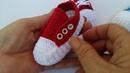 Tênis de Croche - Parte - 02 ISADORA - tipo bamba