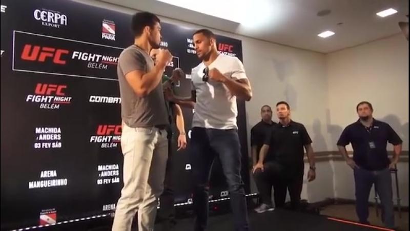 UFC Belem face-offs