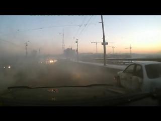 Жуткое ДТП в Омске: Mazda разлетелась в щепки