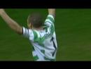 Хенрик Ларссон гол в ворота Сельты кубок УЕФА 2002