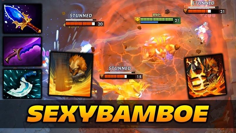 SexyBamboe Earthshaker Highlights Dota 2