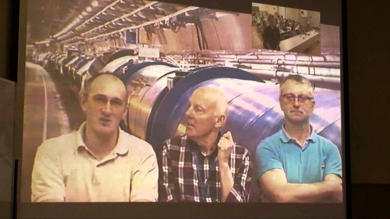 Видеоконференция ОИЯИ-CERN в УНЦ ОИЯИ 2013
