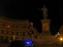 Одесса.6.08.18. 1 ночи - памятник Дюку (герцогу) де Ришелье ул.музыкант -2 -