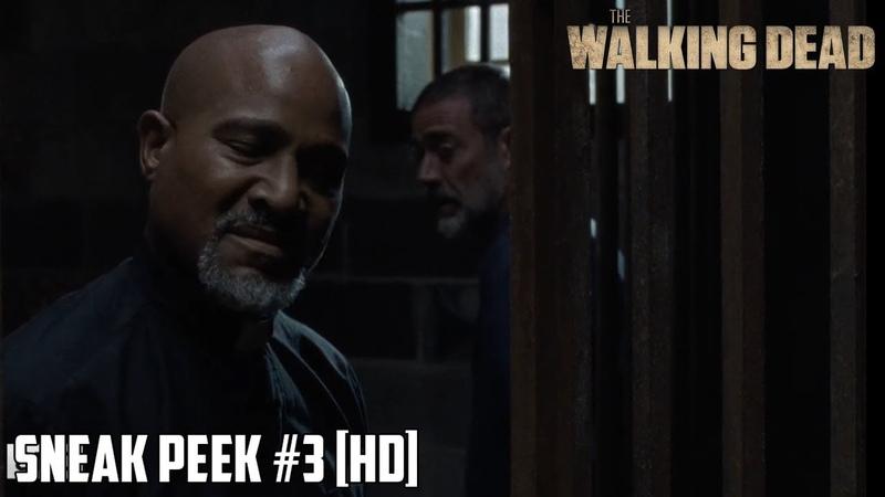 The Walking Dead 9x08 Sneak Peek 3 Evolution Season 9 Episode 08 [HD] GABRIEL TALKS WITH NEGAN