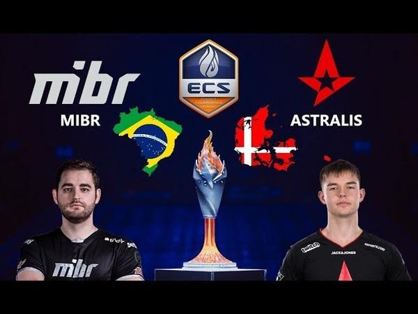 MIBR vs Astralis | ECS Season 6 Finals Grand Final | Map 1 Inferno