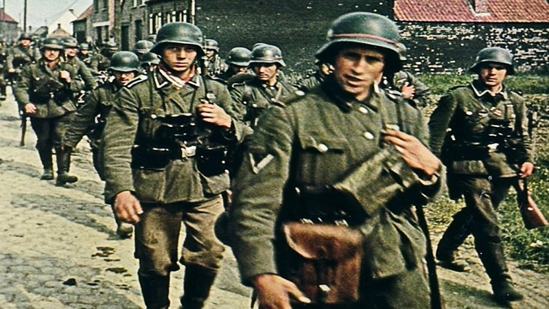 Военные Фильмы КАРАТЕЛИ - ПОЛИЦАИ Военный Фильм 1941-45 Военное Кино