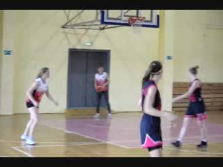 - Отрывок баскетбольной игры, Первомайск-Бабино..октябрь, 2018 г.