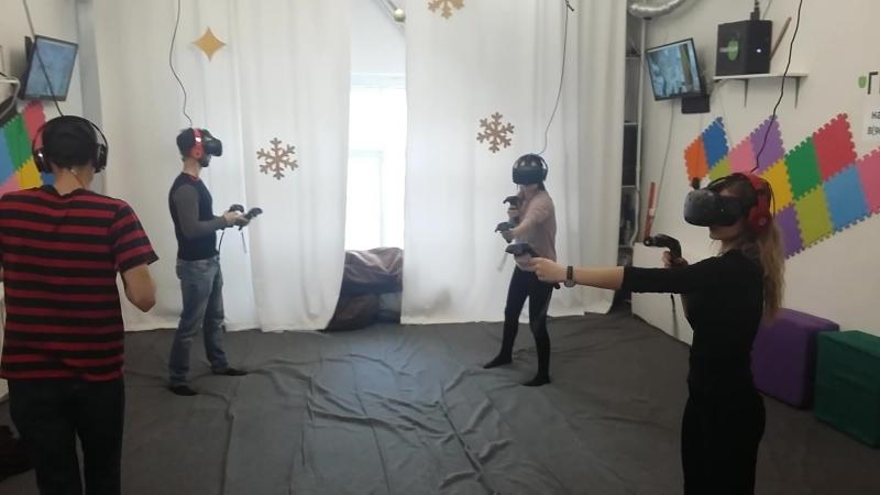 2018.02.15 Игра в клубе виртульной реальности Гравитация СПб.