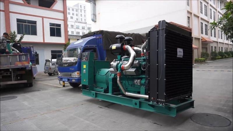 400KW 500KW Diesel Generator Set - Starlight Power