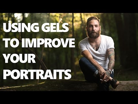 Flash Photography Tutorial - Using gels to balance with ambient light