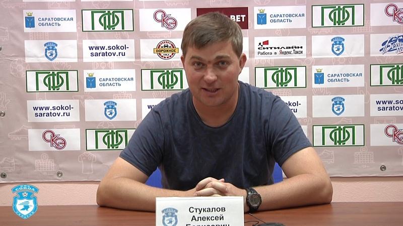 Николай Савичев и Алексей Стукалов после победного для Сокола матча в Саратове