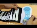 Складные силиконовые фортепиано