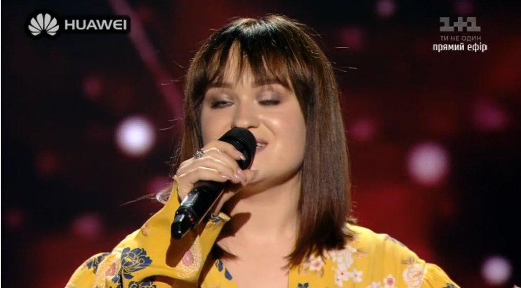 Голос краiни 8 переможеиця Олена Луценко