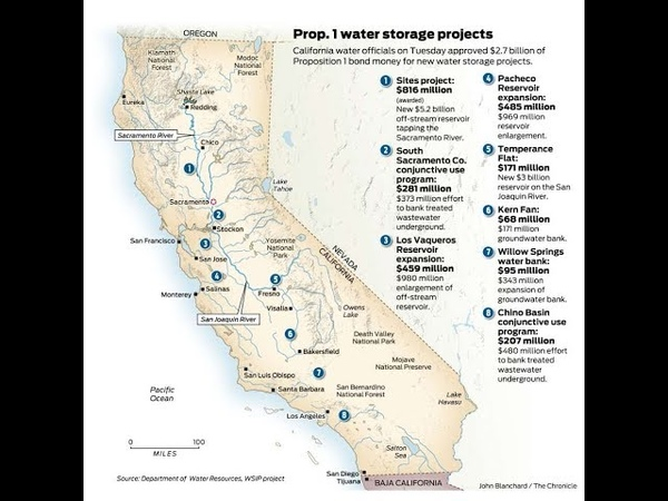 Californias Huge Plans to MEGA DAM(n) The State