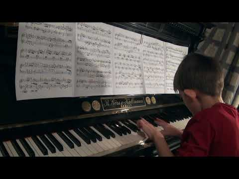 Техническая работа над сонатой Й. Гайдна g-moll Hob. XVI/44. Часть 1 Moderato