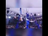 Чемпионат по модельному фитнесу-2018. Флай-йога