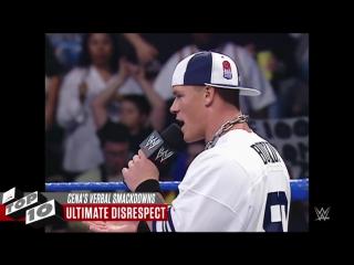 John Cenas best verbal smackdowns - WWE Top 10