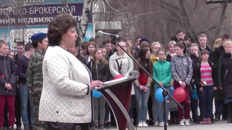 Митинг Республиканского Автопробега. Черногорск ч- 1