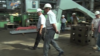 ЭЗТМ изготовил уникальную правильную машину. EZTM JSC straigtener machine mill