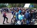 1 отряд РОМАНТИКИ репетиция смотра строя и песни