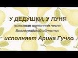 У ДЕДУШКИ, У ЛУНЯ плясовая шуточная песня Волгоградской области. Сольное народное пение ЗАТЕЯ.