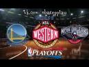 Golden State Warriors vs New Orleans Pelicans 04.05.2018 NBA Playoffs 2018 West Round 2Game 3ВиасатViasat Sport HD RU