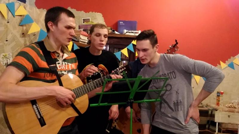 Hallelujah квартет Гитарник в Зелёной Лампе 01 04 2018