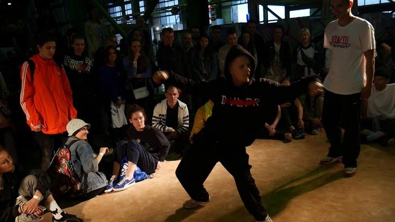 URBAN DANCE AREA by BATTLE PROJECT | JAM-BATTLE TUSA | HIP-HOP 1 ROUND | SAZON vs KEISY vs PAHAN
