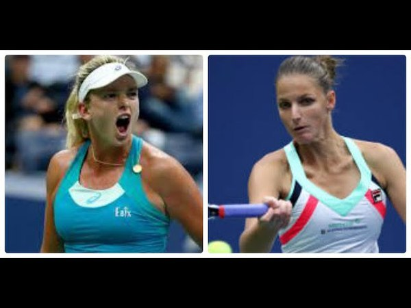 CoCo VANDEWEGHE vs Karolina PLISKOVA highlights Stuttgart 2018 HD
