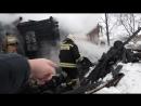сгорел дом, ярославль , школьная 150 ч12