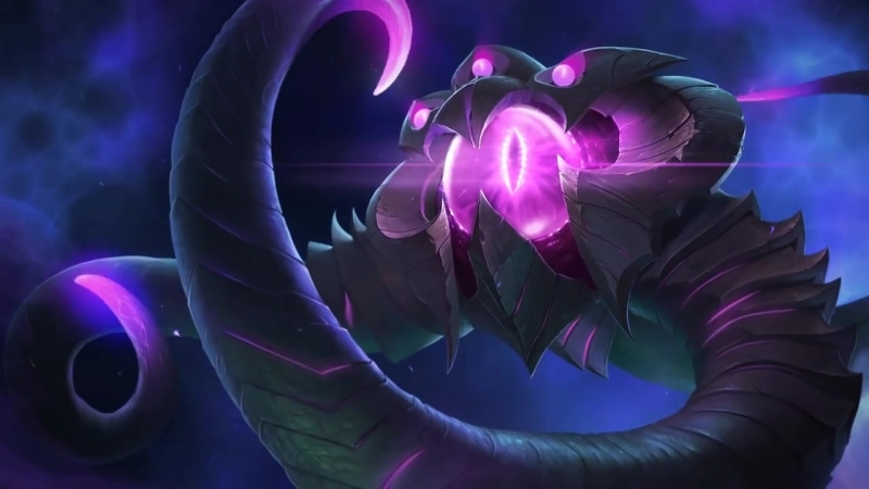 VelKoz, the Eye of the Void _ Login Screen - League of Legends