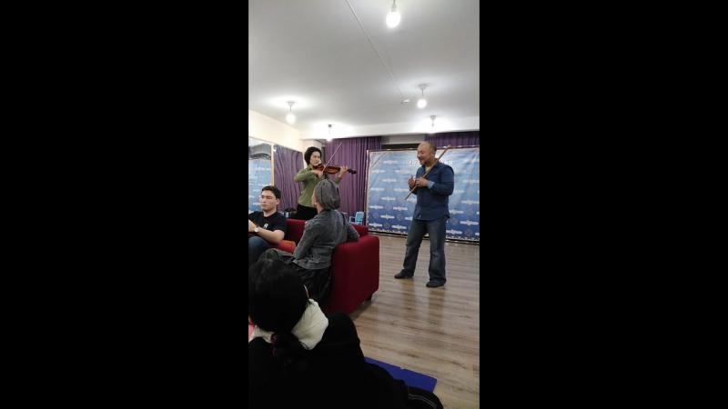 Роберт Юлдашев и Гульфия Саяхова