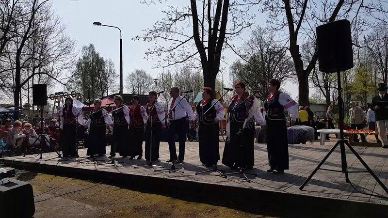 Украинская народная песня Ой Смереко Латвия Резекне празник весны 01 05 2018г