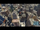 Just Flying in Marvel's Spider-Man