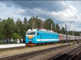Запуск ЭП1П-066 Trainz 2012