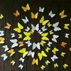 ▶3D бабочки на стену для декора!
