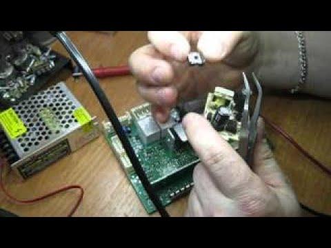 Ремонт электронного модуля(силовой блок) стиральной машины indesit