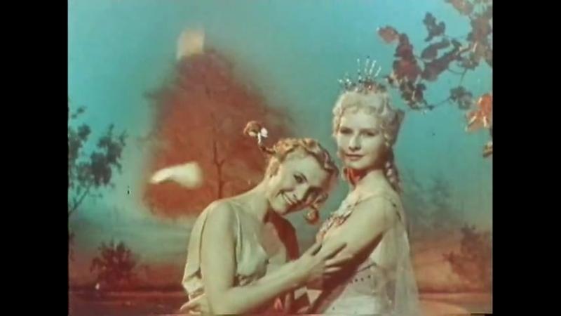 Шарль Перро. Хрустальный Башмачок. Фильм - Балет. (1960.г.
