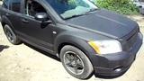 Dodge Caliber покрашенный в черный Титан с добавлением пигментов серебра в Самаре