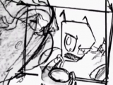 Invader Zim - Scenes Sketch - Concept Drawings - Hobo 13