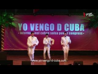 Pedrito y compania cubache - yo vengo de cuba. cuban salsa power congress 2018