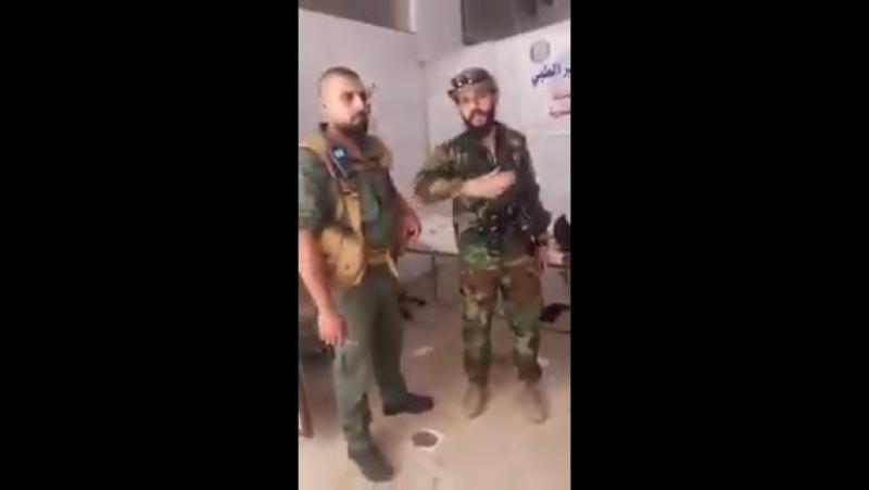 De l'intérieur de l'hôpital militaire de Busra Al Harir La Victoire arrive